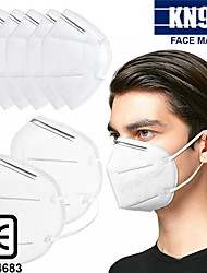 cheap -20 pcs KN95 CE Approved Face Mask Respirator Protection In Stock CE Certified Certification White