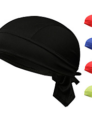 cheap -Fabric Durag Breathable highly stretchy For Street Basketball Sporty Chic & Modern claret Red Green 1 Piece / Men's