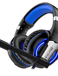 cheap -G1 Gaming Headphones soft Microphone game Earphones Deep Bass Stereo Big over-ear Headsets for PC PS4 Computer Gamer Laptop