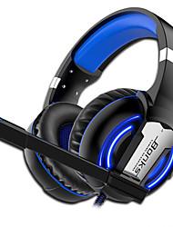 Недорогие -G1 игровые наушники мягкий микрофон игровые наушники Deep Bass стерео большие наушники-вкладыши для ПК PS4 компьютер геймер ноутбук