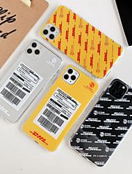 Недорогие -чехол для apple 11 11pro 11promax x xs xr xsmax простой цифровой шаблон давления воздуха оболочки анти-падения материал тпу прозрачный чехол для мобильного телефона