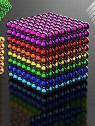 Недорогие -216-1000 pcs 5mm Магнитные игрушки Магнитные шарики Конструкторы Сильные магниты из редкоземельных металлов Неодимовый магнит Неодимовый магнит Стресс и тревога помощи Товары для офиса Своими руками
