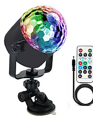 cheap -Disco Lights OMERIL Sound Activated Disco Ball Lights with 4M/13ft USB Power Cable 3W RGB Party Lights with Remote Control for Kids Birthday Christmas Party Home-USB Powered Energy Class A 1pc