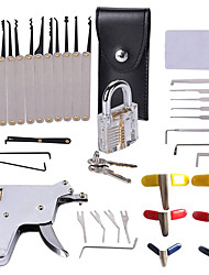cheap -29 Pcs Transparent Lock  Plated Unlocking Tool Kit