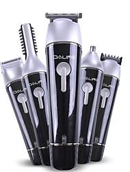 Недорогие -5 в 1 многофункциональный электрический машинка для стрижки волос триммер для бороды аккумуляторная эпилятор водонепроницаемый нос волосы устройства