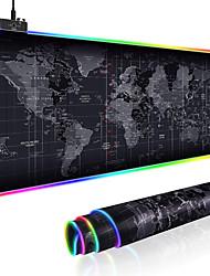 Недорогие -игровой коврик для мыши большой размер красочные светящиеся для ПК компьютерный рабочий стол 7 цветов из светодиодов свет настольный коврик игровая клавиатура коврик 300 * 800 мм