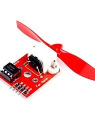 Недорогие -Модуль подлинных ключей модуля двигателя вентилятора l9110 для мастерской потока arduino 75mm dc 5v