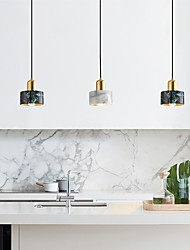 cheap -15 cm Single Design Pendant Light Ceramic Marble Electroplated Nature Inspired Nordic Style 110-120V 220-240V
