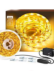 cheap -2x5m Flexible LED Light Strips Flexible Pper Meter 120 LEDs 2835 SMD High Light LED Strip Light with Dimmer Switch and 12V Adapter