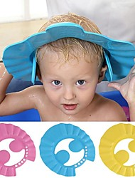cheap -Baby Shower Caps Shampoo Cap Wash Hair Kids Bath Visor Hats Adjustable Shield Waterproof Ear Protection Eye Children Hats Infant