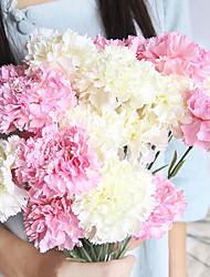 Недорогие -44см день матери гвоздика моделирование цветок украшения дома свадебный фестиваль 1 палка