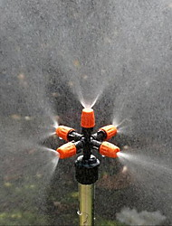 cheap -Garden Sprinklers Automatic Watering Grass Lawn 360 Degree Circle Rotating Water Sprinkler 5 Nozzles Garden Pipe Hose