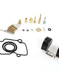 cheap -4 Stroke Mikuni VM22 Carburetor Mani Jet Oil Seals Repair Kits For YBR125 Carb 26mm