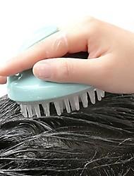 Недорогие -мягкий силиконовый шампунь массажная щетка для волос щетка для кожи головы лечение гребень ванна поставка расческа инструмент для укладки