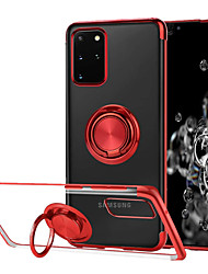 cheap -Ring Holder Phone Case For Samsung Galaxy S20 Ultra S20Plus S20 /A70 /A50 A40 /A30 /Note 10 Note 10Plus Shockproof Cover Accessories