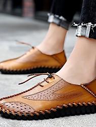 cheap -Men's Hiking Shoes Breathable Quick Dry Anti-Slip Comfortable Running Hiking Jogging Summer khaki Brown Black