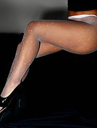 cheap -Women's Thin Super Sexy Pantyhose - Sexy 20D Fuchsia Red Khaki One-Size