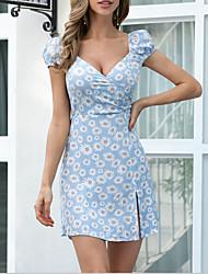 Недорогие -женское повседневное платье с запахом шеи, облегающее платье mm0757