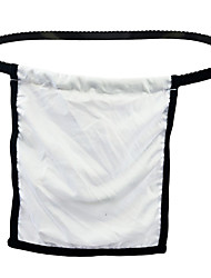 cheap -Men's Cut Out G-string Underwear - Normal Low Waist White One-Size