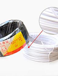 Недорогие -железный провод с пластиковым покрытием железный сердечник с пластиковым покрытием силовой кабель цвет провода оптом 0,9 мм железный сердечник