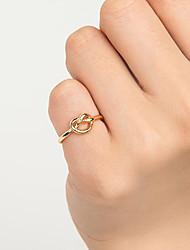 cheap -Ring Black Gold Silver Alloy Elegant Holiday European 1pc 10 / Women's