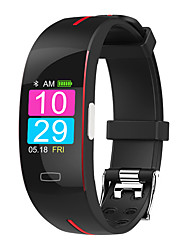 cheap -P1 Smart Band Watch With Remote Care ECG Temperature Blood Health Management Sport Fitness Tracker For Xiaomi huawei