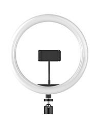 cheap -Round Live Light Night Light Dimmable Photography Lights Selfie Light Mode Switching USB 1 set