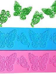 Недорогие -Бабочка силиконовые выпечки торт кружева помадка шоколад плесень сделай сам