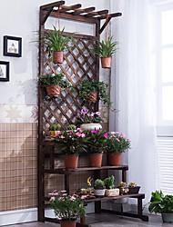 Недорогие -антисептик дерева складной подставка для цветов из цельного дерева многослойная подставка для цветов балкон крытый мясистый подставка для цветов пол полка деревянная