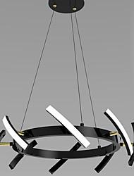 cheap -8-Light 48 cm Single Design Chandelier Metal Black Contemporary / Nordic Style 110-120V / 220-240V