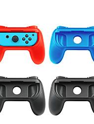 Недорогие -Аксессуары для игрового контроллера Назначение Nintendo Переключатель ,  Аксессуары для игрового контроллера ABS 2 pcs Ед. изм