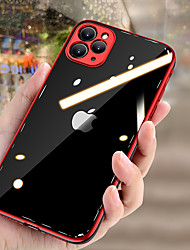 cheap -Luxury Original Plating TPU Case For Apple iphone 11 Pro Max  Transparent Back Cover Phone Cases