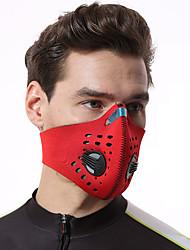 Недорогие -Спортивная маска Лицевая Маска Дышащий Защита от пыли Эластичность Прочный Велоспорт Красный Розовый Зеленый Зима для Муж. Жен. Взрослые / Горные велосипеды / Шоссейные велосипеды