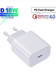 cheap -Original 18W PD QC4.0 3.0 Fast Charger for Apple iPhone 11 Pro 8 Plus XR XS Max iPad mini USB Type-C Quick Charge Travel Adapte