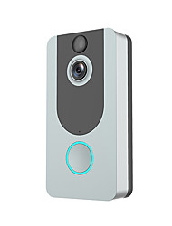 cheap -Visual Recording Remote Smart Wireless WiFi Security Eye Door Bell