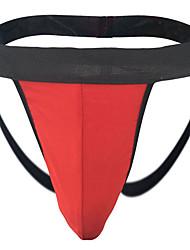 cheap -Men's Basic G-string Underwear - Normal Low Waist Red One-Size