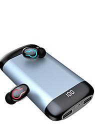 cheap -Q66 True Wireless Earphones Bluetooth 5.0EDR TWS Earbuds 6000mAh IPX5 Waterproof Mini Sports Headset with Dual Mic