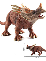 cheap -Dragon & Dinosaur Toy Dinosaur Figure Triceratops Jurassic Dinosaur Tyrannosaurus Rex Silicone Plastic Kid's Party Favors, Science Gift Education Toys for Kids and Adults