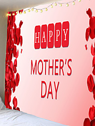 cheap -Happy mother's day vestee and tapestries, polyester fiber material
