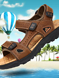 cheap -Men's Hiking Shoes Anti-Slip Quick Dry Breathable Comfortable Hiking Running Jogging Summer Brown Chocolate