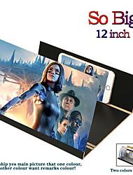 cheap -3D universal screen amplifier Stereoscopic 12-Inch Fashion Mobile Phone Screen Folding For Xiaomi Samsung Huawei Apple