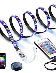 cheap -3M LED Light Strips RGB Tiktok Lights WiFi Intelligent Dimming Control TV Led Backlight Flexible Light Strip 90 X 5050 SMD 5V USB Interface