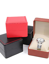cheap -Watch Display Stand Watch Boxes Leather 8 cm 9 cm
