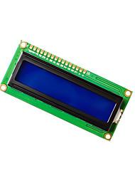 Недорогие -модуль lcd1602 сине-зеленый модуль отображения экрана