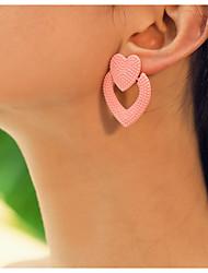 cheap -Women's Earrings Geometrical Precious Earrings Jewelry Yellow / Pink / Orange For Daily
