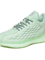 cheap -Men's Tissage Volant Fall / Spring & Summer Sporty / Casual Athletic Shoes Running Shoes / Walking Shoes Breathable Light Green / White / Brown