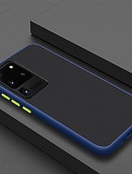 Недорогие -чехол для телефона samsung galaxy s20 / s20plus / s20ultra люкс контрастного цвета рамки матовый жесткий ПК защитный чехол для samsung galaxy note 10 / note 10 plus / s10 / s10 plus / s10e чехол