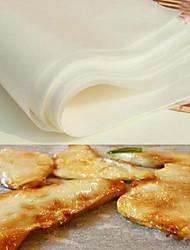 cheap -10Pcs Set Non-stick Baking Paper Sheet Silicone Paper Mat BBQ Cooking Tools 30*20cm