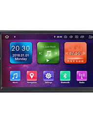 cheap -Factory OEM WG7092S 7 inch 2 DIN Android 9.0 In-Dash Car DVD Player / Car GPS Navigator GPS / Built-in Bluetooth / RDS for Universal / universal RCA Support MPEG / AVI / MPG MP3 / WMA / WAV GIF / BMP