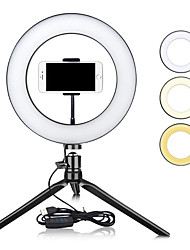 "cheap -10"" Dimmable LED Ring Light TikTok Youtube Video Self-Timer Fill Light USB Led Table Lamps for Photography Makeup Beauty Fill Lights USB"